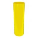 socle rond coloré, 25 x 100 cm (diamètre x hauteur)