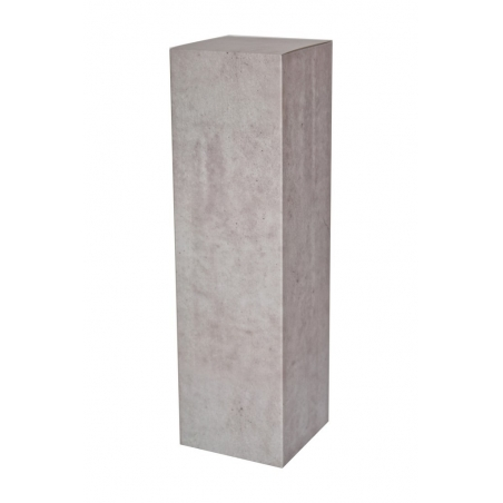 kartonnen sokkel betonlook, 28,5 x 28,5 x 100 cm (lxbxh)