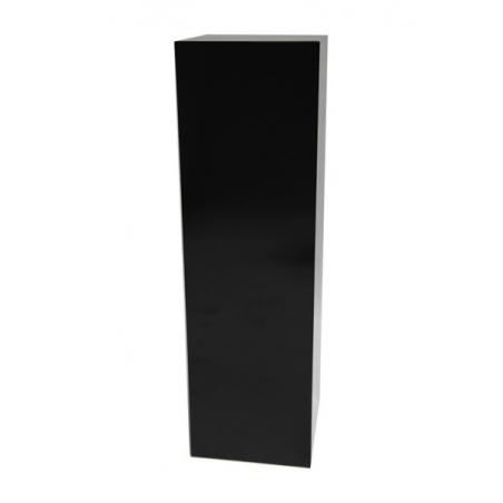 Solits sokkel zwart hoogglans, 30 x 30 x 100 cm (lxbxh)