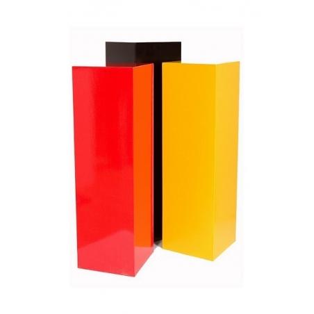 sokkel MDF kleur 30 x 30 x 80 cm