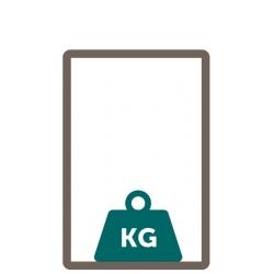 verzwaring sokkel (10 kg)