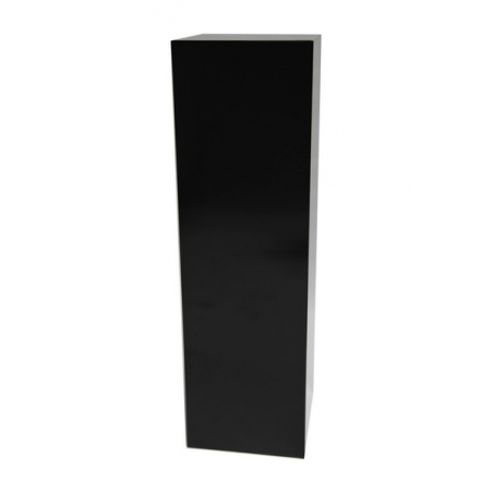 Solits sokkel zwart hoogglans, 50 x 50 x 100 cm (lxbxh)