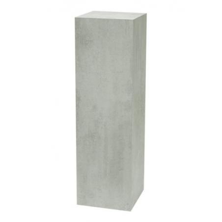 Solits sokkel betonlook, 40 x 40 x 100 cm (lxbxh)