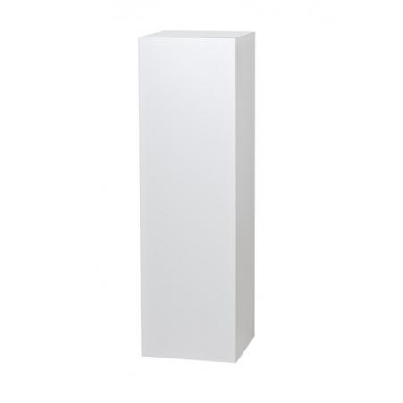 socle blanc, 30 x 30 x 30 cm (lxLxh)