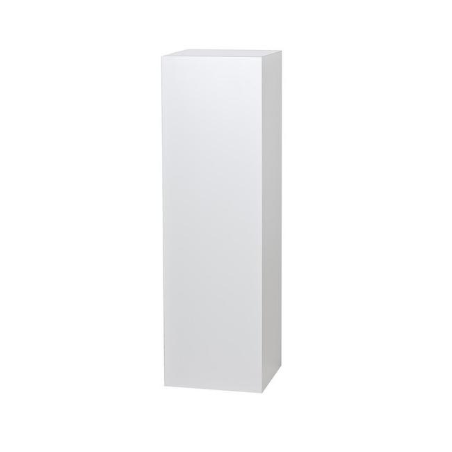 socle blanc, 40 x 40 x 100 cm (lxLxh)