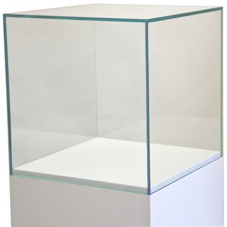 glazen vitrinekap, 40 x 40 x 40 cm (lxbxh), 6mm glas