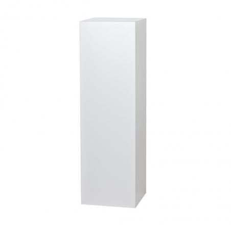 socle blanc brillant, 40 x 40 x 100 cm (lxLxh)