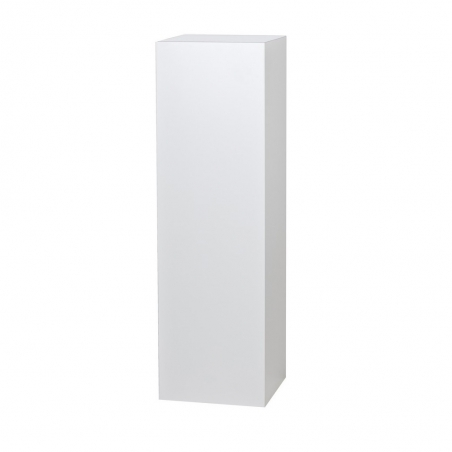 Solits sokkel wit hoogglans, 60 x 60 x 100 cm (lxbxh)