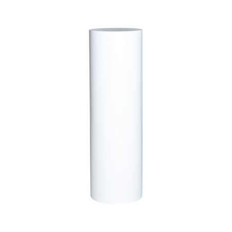 ronde sokkel wit, diameter 63 cm hoogte 100 cm