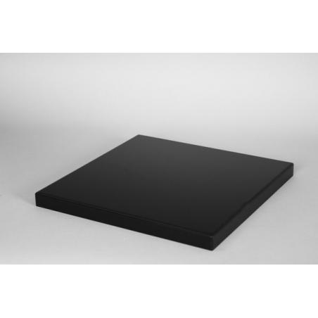Top MDF zwart (max. 50x50cm)