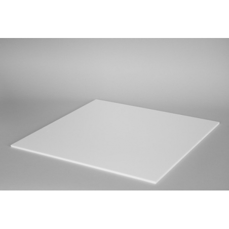 Top 4mm plexiglas wit (max. 50x50cm)