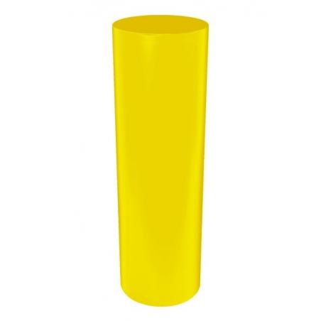 socle rond coloré, 50 x 100 cm (diamètre x hauteur)