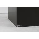 socle noir, 40 x 40 x 100 cm (lxLxh)