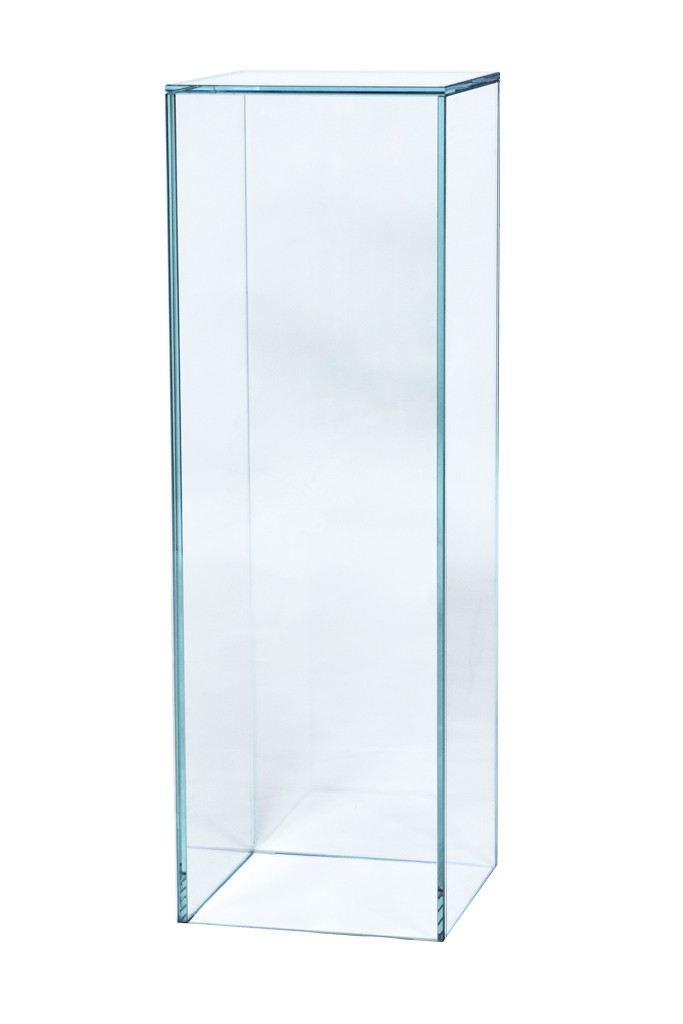 Glazen sokkel
